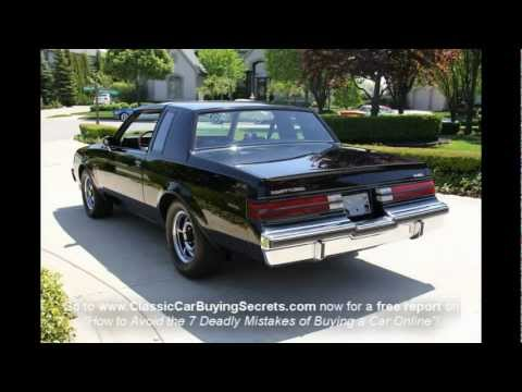 1985 Buick T Type Classic Muscle Car for Sale in MI Vanguard Motor Sales