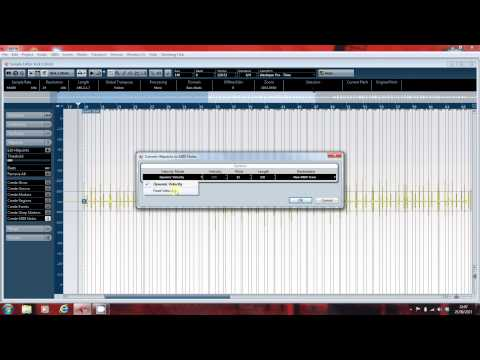 Revoicing drums in Cubase using hitpoints