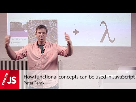 How functional concepts can be used in JavaScript