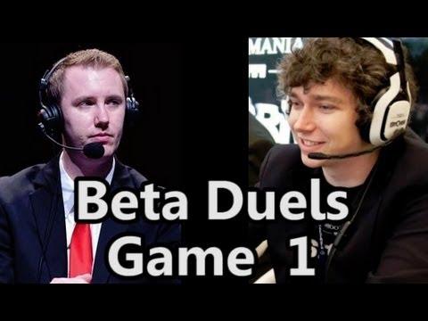 AskJoshy vs Doa Game 1 - Mage vs Hunter - Hearthstone Beta Duels #1