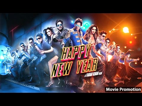 Happy New Year Movie - Shah Rukh Khan - Deepika Padukone - Full Promotion Events Video