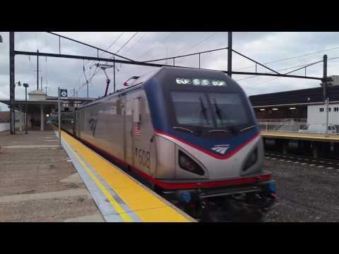 Amtrak Keystone Train 647 at lancaster Pa 1/31/17 plus a pleasent surprise