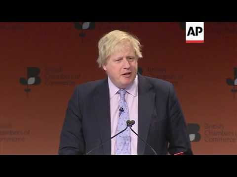 UK FM addresses UK business leaders