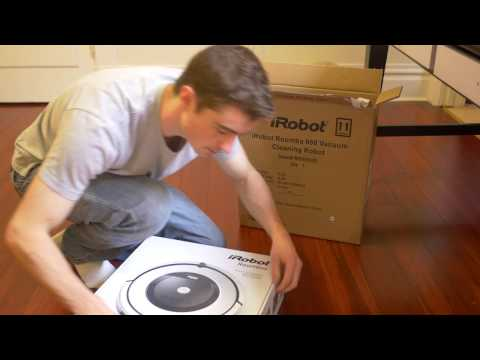 Roomba 860 unboxing and quick setup - HD