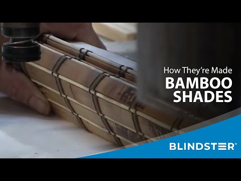 How Bamboo Shades are Made