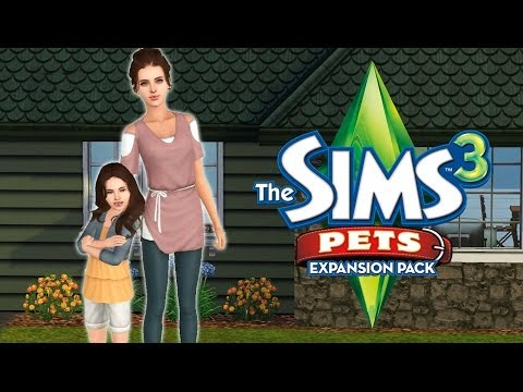 Let's Play the Sims 3 Pets! Part 8: New House