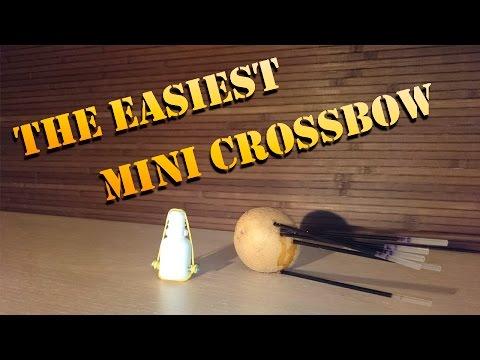 The easiest mini crossbow