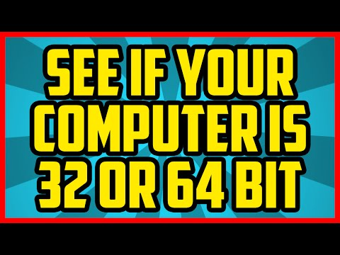 How To Find Out What Bit Your Computer Is Windows 10 2017 - Is My Computer 32 or 64 Bit? 2016