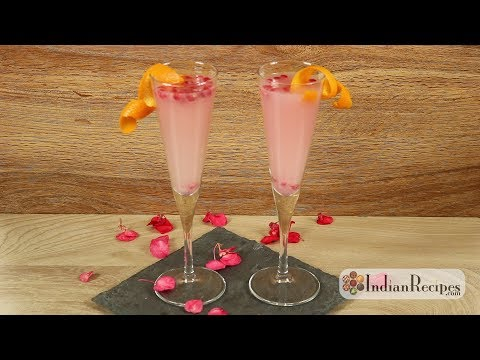 How to make Pomegranate Orange Spritzer | Cocktail | Party