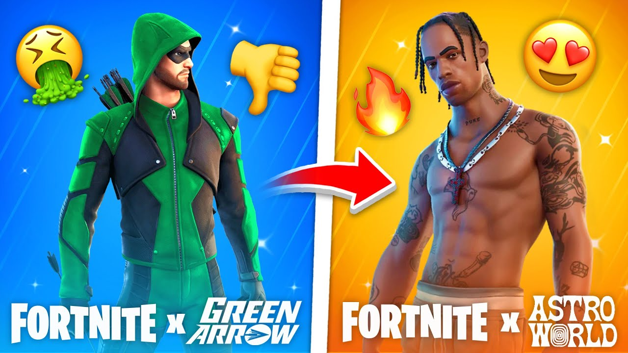 10 WORST Fortnite Collabs