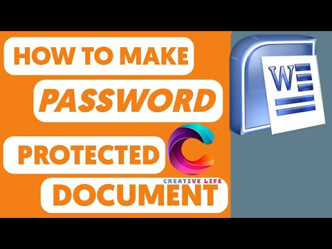 How to make Uneditable and Password Protected Word Document