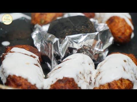 Dhuwan Dahi Kabab Recipe (Chicken Kabab) | Cook With Fariha (2018)