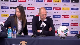 Press Conference: Gold Cup 2019 Final - Gregg Berhalter
