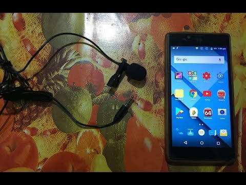 495) How to use any external microphone on an android smartphone