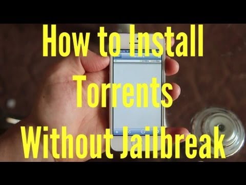 How to Download Torrents without Jailbreak (iTransmission)