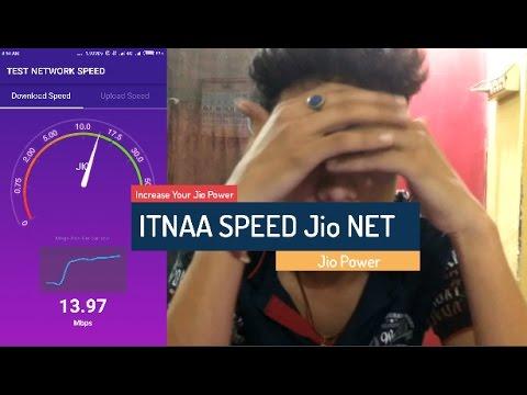 How to Increase Jio 4g Net Speed - Ittna Speed OMG