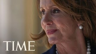 """Nancy Pelosi On Never Asking For Permission & Breaking The """"Marble Ceiling"""" As A Woman 