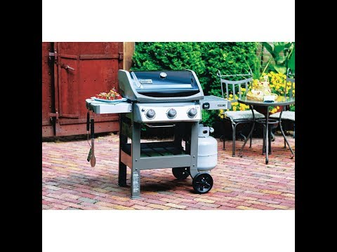 WEBER SPIRIT 2 E-310 OUTDOOR GAS GRILL UNBOXING ASSEMBLY W FULL INSTRUCTION MANUAL