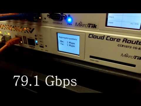 Mikrotik CCR1072 Performance Test