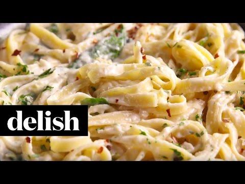 Spinach Artichoke Alfredo | Delish