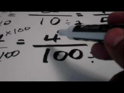Dr. Botan's Math: Change Decimals into Fraction