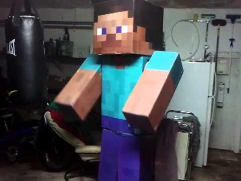 Minecraft Costume Test