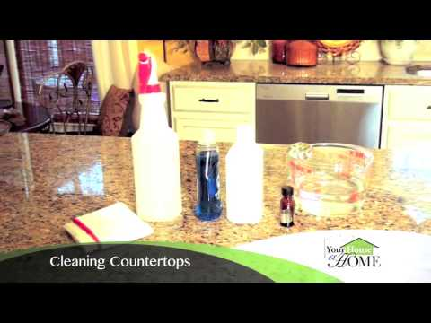 Homemade Cleaning Solution for Granite - Ep1 part5