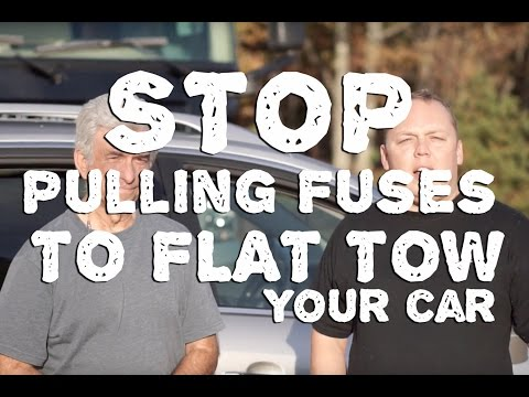 Stop Pulling Fuses to Flat Tow Your Vehicle