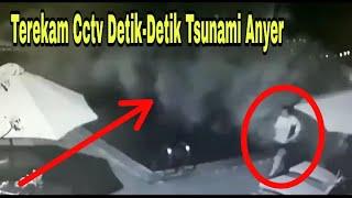 Terekam Jelas Kamera Cctv~Detik-Detik Tsunami Pantai Anyer. || Band Seventeen Diterjang Tsunami