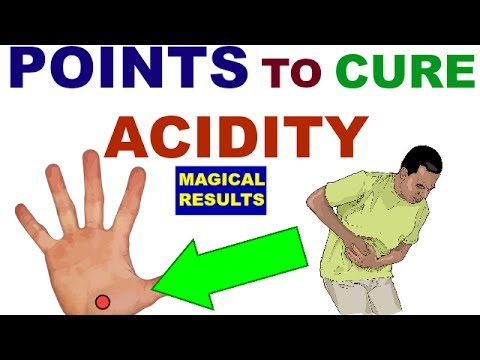 Sujok Therapy For Acidity||Gastritis||Acupressure Points For Acidity||Gastritis||In Hindi