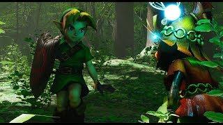 Unreal Engine 4 421 Zelda Ocarina Of Time  Lost Woods  Download Link
