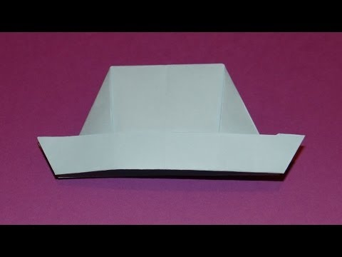 How To Make An Origami Hat 02