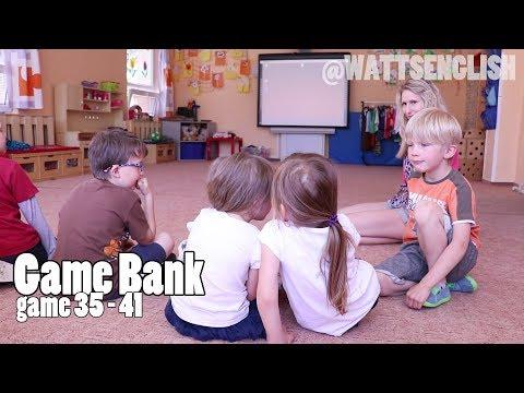 Game bank | game 35 - 41 | WattsEnglish