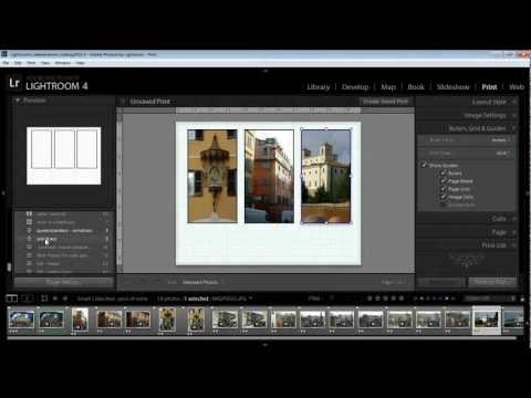 Lightroom - Create a Triptych Using Custom Package