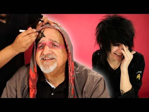 Emo Kids Give Their Parents A Makeover