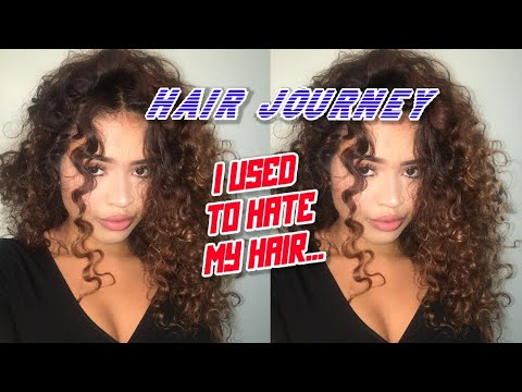 My CURLY Hair Journey !!!