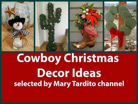 Cowboy Christmas Decor Ideas – Christmas Texas Style Inspo