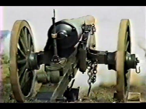 Live Firing of Civil War Siege Artillery, Part 1, 30 Pounder Parrott Rifle