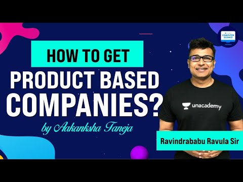How to get into PRODUCT BASED COMPANIES