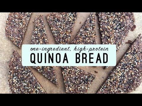 One-Ingredient, High-Protein Quinoa Bread | Stacie Billis