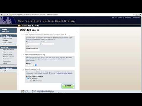 Webcrims - Court Case Search