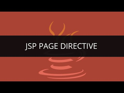 JSP Directives | Learn JSP Page Directive | JSP Tutorial for Beginners with examples |JSP  Tutorial