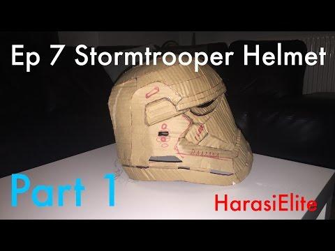 How To - Star Wars Episode 7 Stormtrooper Helmet - Part 1