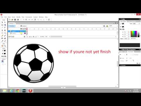 Macromedia Flash 8 basic tutorial