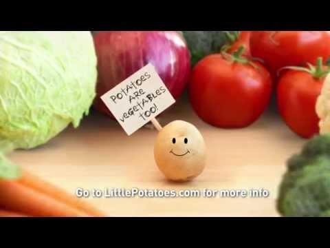 Creamer potatoes are vegetables too