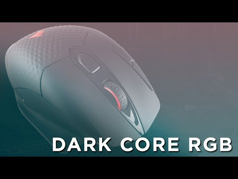 CORSAIR Dark Core RGB  Wireless Gaming Mouse - Wired performance, goes wireless.