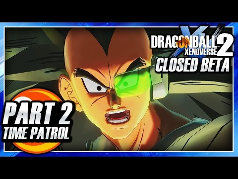 Dragon Ball Xenoverse 2 (PS4): Closed Beta - Part 2 - Time Patrol & Parallel Quests Gameplay!
