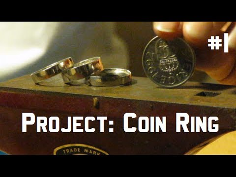 Coin Ring || Tutorial - DIY