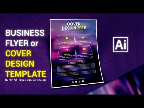 Illustrator Tutorial - Flyer or Cover Design Template