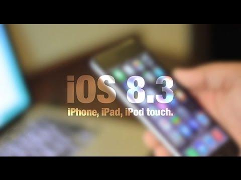 Обзор iOS 8.3 BETA 3